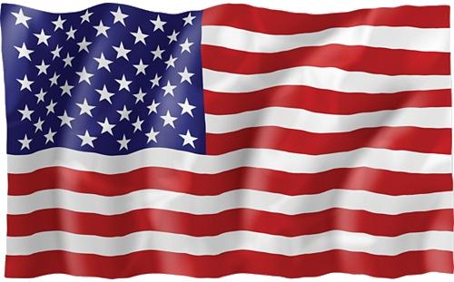 USA Amerikansk Flagg