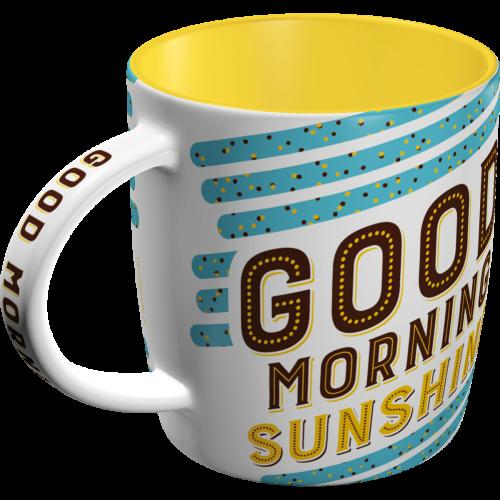 1749fa2f Good Morning Sunshine - Krus / Kopp - METALLSKILT.NO
